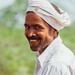 Smiling Man in Turban, Uttar Pradesh India