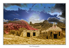 DSC_7002 série 2 (C&C52) Tags: paysage landscape montagnes ruines vestiges église artnumérique
