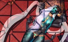 Scarab Goddess (LiangScorpio) Tags: fallengodsinc secondlife sl goddess scarab aii fantasy catwa maitreya fallenlibertine