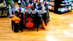 Supermarket Halloween display! (Maenette1) Tags: halloween display decorations jacksfreshmarket menominee uppermichigan flicker365 allthingsmichigan absolutemichigan projectmichigan