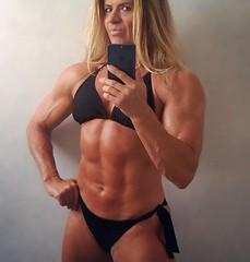 Madam Mysteria - October 2018 (Madam Mysteria) Tags: muscle biceps abs bikini femdom mixedwrestling strongwoman mysteria