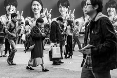 Has Seen Better Athletes (burnt dirt) Tags: asian japan tokyo shibuya station streetphotography documentary candid portrait fujifilm xt1 bw blackandwhite laugh smile cute sexy latina young girl woman japanese korean thai dress skirt shorts jeans jacket leather pants boots heels stilettos bra stockings tights yogapants leggings couple lovers friends longhair shorthair ponytail cellphone glasses sunglasses blonde brunette redhead tattoo model train bus busstation metro city town downtown sidewalk pretty beautiful selfie fashion pregnant sweater people person costume cosplay boobs