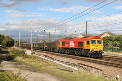 66783 6B64 dringhouses 04.10.2018 (Dan-Piercy) Tags: gbrf ex dbcargo 66783 66058 dringhouses york 6b64 northblyth westburton ps loaded coal ecml