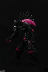 Son of Makuta - Rahi Control (...The Chosen One...) Tags: lego bionicle moc rahkshi rahi control magenta pink emo