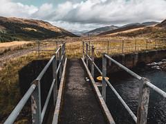 Controlling the Water - Sept 2018 (GOR44Photographic@Gmail.com) Tags: butterbridge ardlui arrocharalps hills mountains gor44 scotland argyll path water irrigationsystem panasonic olympus g9 1240mmf28 cloud
