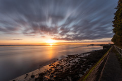 Sunday Sunrise (Rob Pitt) Tags: eastham ferry sunrise colour river mersey merseyside wirral low tide october 2018 nd1000 10 stop filter long exposure cloud sky outdoor a7rii canon 1740 f4 l