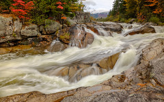 Little Niagara Falls, Baxter State Park (jtr27) Tags: dscf2528xl2 jtr27 fuji fujifilm xt20 xtrans xf 1855mm f284 rlmois littleniagara niagara falls baxter statepark maine newengland autumn foliage waterfalls longexposure nesowadnehunk stream river fall