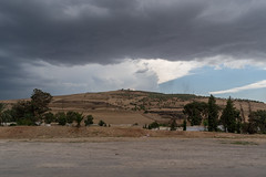 a view from a moving car (Lahilashay) Tags: greyday cloudysky morocco travelphotography beautinnature cloudsky environmnet landscape mountain nature nopeople nonurbanscene