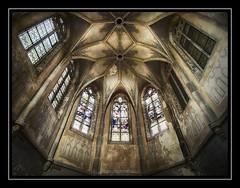 House Of Worship (Fotogravirus) Tags: stjozefsheim urbex urbanexploring abandoned decay decayed neglected eerie creepy church holy samyang10mm samyang fotogravirus