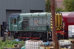 "D4100 (09012) ""Dick Hardy"" - Severn Valley Railway - 05-10-18 (techno-phobe) Tags: severnvalleyrailway 50sat50 50sgoldenjubilee class09 supergronk diesellocomotive locomotive preserved preservedrailway 09012 d4100 dickhardy"