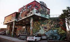 Colossal Media Building (neilsonabeel) Tags: nikonfe2 nikon film analogue brooklyn newyorkcity mural streetart