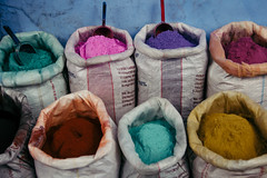 palette (rick.onorato) Tags: morocco desert arab berber north africa blue city colors