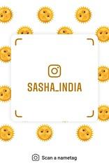 example of nametag for Instagram (Sasha India) Tags: instagram nametag instatag tag name sashaindia дизайн qrcode design 設計 디자인 التصميم σχέδιο डिज़ाइन வடிவமைப்பு desenhar projekt עיצוב desain surya sun