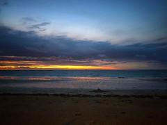 Necromancer (G.Billon) Tags: sky clouds groupenuagesetciel cameraphone iphoneography iphoneografy iphone webelongtothesea sunset beach seascape bretagne bzh plagedelongchamp gbillon saintlunaire