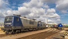 044_2018_09_22_Leuna_Infraleuna_6143_254_RBH_135_6143_069_RBH_102_6185_589_RHC_Luther_1275_011_LEUNA_1275_011_LEUNA_4482_037_SBBC_LEUNA_4185_013_VL (ruhrpott.sprinter) Tags: ruhrpott sprinter deutschland germany allmangne nrw ruhrgebiet gelsenkirchen lokomotive locomotives eisenbahn railroad rail zug train reisezug passenger güter cargo freight fret leuna leunawerke infraleuna linde 120 203 0264 0650 1247 1261 1275 4185 4482 6143 6185 6186 6187 6193 9527 alpha db lineas mgn rbh rhc rotrac rpool sbbc sueag vl wfl dampfspeicherlok schienenwalzzeichen schienenfahrrad weksfeuerwehr unimog abfüllanlage logo natur outddor haupttorplatz kanaldeckel
