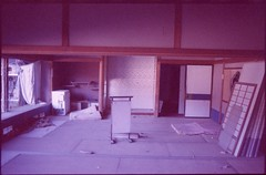 (✞bens▲n) Tags: pentax lx kodak ektachrome p1600x at400 31mm f18 limited film analogue slide expired japan nagano haikyo hotel onsen room abandoned