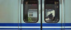 1013_012 (solarliu) Tags: taiwan fog rainy rain trip journey damp blue train bus station snap people passerby