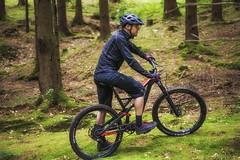 On the Bike (HeiJoWa) Tags: alpha 6000 sony 7artisans 55mm 14 forest wald mountainbike sport saarland portrait porträt shooting bokeh blurry trees rad bike fahrrad wheels biker