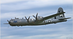 BOEING B-29 SUPERFORTRESS NX529B (2.6 Million + views!!! Thank you!!!) Tags: canon eos 70d canonef100400 100400mm psp2018 paintshoppro2018 efex topaz brantford ontario canada airshow aircraft bombers b29 fifi flypast