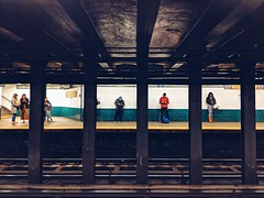 The Usual Suspects (dpakisgood) Tags: subway mta new york city nyc newyorkcity ny qtrain ntrain canalstreet urban commute commuter train metro publictransportation