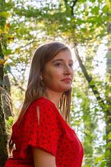 IMG_9336 (fab spotter) Tags: younggirl portrait forest levitation brenizer extérieur lumièrenaturelle