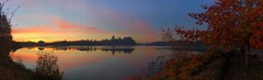 Capital Lake Sunrise (derek.genre) Tags: capitallake colors washington clouds fall sunrise olympia