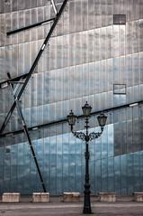Laterne (Karl-Heinz Bitter) Tags: architektur berlin deutschland europa jüdischesmuseum architecture europe germany facade fassade lamp laterne karlheinzbitter
