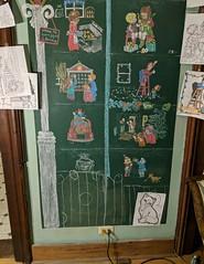 chalkboard Christmas tree 2018 (christmasnotebook) Tags: christmasnotebookcom christmastree chalkboard chalkboardtree chalkboardchristmastree chalk illbehomeforchristmas