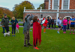 Halloween parkrun (Claire Louise Beyga) Tags: halloween park parkrun croxtethpark croxteth croxtethhall croxtethcountrypark croxtethhallcountrypark westderby liverpool scary ghosts ghost spooky pumpkin pumpkinface skull micheal myers killer runner runners costume dress up dressing outside outdoors outdoor october october31st saturday autumn cold bitter fun activity treats decoration bats wolf