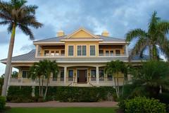Classic Florida coastal home. (lada/photo) Tags: architecture florida house homes floridahomes ladaphoto