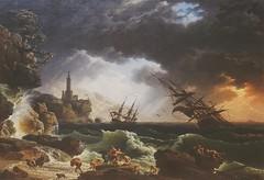 Joseph Vernet (French,Avignon 1714-1789 Paris),A Shipwreck in Stormy Seas,1773,oil on canvas (marcos2077) Tags: metropolitanmuseumofart josephvernet