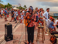 the_beat (gerhil) Tags: travelphotography travel lifestyle event sunset celebration mallorysquare keywest people revelers musician performer streetperformer gathering tradition sky water music reggae entertainment