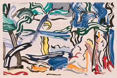 Moonscape (Jonathan Lurie) Tags: roy lichtenstein california art museums san francisco museum modern sfmoma painting artmuseum artinmuseums modernart roylichtenstein sanfranciscomuseumofmodernart sanfrancisco unitedstates us