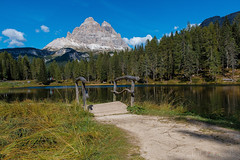 the bridge (benno.dierauer) Tags: südtirol altoadige landscape landschaft alpen mountains berge italy italien canon70d water wasser lake see lagodantorno