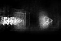 The Haunted (SopheNic (DavidSenaPhoto)) Tags: impressionisticphotography haunted halloween monochrome intentionalcameramovement fujinon35mmf14 house fuji bw xt2 icm blackandwhite fujifilm impressionism