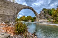 Wide Span (GP - back in a few days) Tags: konitsa arch semicircle semicircukar stone bridge aoosriver zagoru zagoroxoria