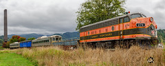 Great Northern 274 (BrettLarson50) Tags: 2018 oregoncoast oregoncoastscenicrailway oregon emdf7 f7 train newport locomotive pnw tillamook unitedstates us