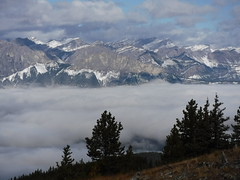 Hunchback hills (davebloggs007) Tags: hunchback hills kananaskis alberta canada mountains fog bow valley yamnuska