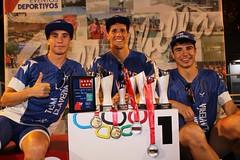 Campeonato de Madrid Triatlon Supersprint Villabilla Team Clavería podio