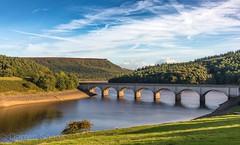 Ladybower (Darren Speak) Tags: trees sunny england bridge uk water canon landscape eos reservoir