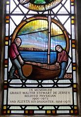 Swanage - St Mary's Parish Church (Glass Angel) Tags: stainedglasswindows stainedglass swanage stmarythevirgin church abbotandco stmarysparishchurch dorset uk