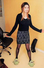 601 (Lily Blinz) Tags: crossdress crossdresser crossdressed collant crossdressing travesti tgirl transvestite tranny transgender transgenre trav trans lily lilyblinz blinz