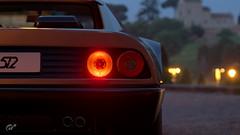 Ferrari 512 BB (Matze H.) Tags: ferrari 512 bb gt sport gran turismo italy dark night rear lights scapes wallpaper 4k uhd hdr