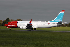 LN-BKC Boeing 737 Max-8 Norwegian (eigjb) Tags: dublin airport international ireland collinstown eidw airliner aviation aircraft aeroplane plane spotting 2018 transport lnbkc boeing 7378 max norwegian unicef b737 737 max8