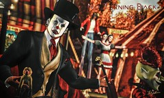 No Turning Back Now... (Uri Jefferson) Tags: sl secondlife clown it creepy horror halloween scary places freak freakshow circus sideshow halloween2018