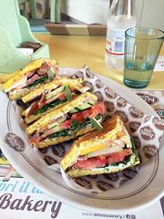 White bakery pranzo (berightbackblog) Tags: rimini romagna emiliaromagna italia italy mare streetart