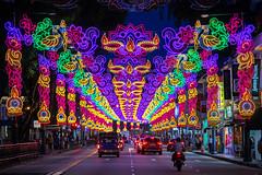 Deepavali Light-up 2018 (BP Chua) Tags: deepavali diwali singapore asia road street night colours light led canon 1dx 70200mm littleindia india indian hindu festival annual