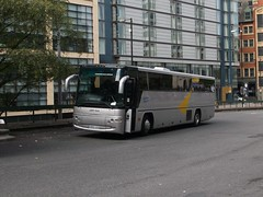 SkyCoaches AR05GZO 01092018 (Rossendalian2013) Tags: bus manchester piccadilly railway station railreplacement coach skycoachesmanchester reynoldsofcaister ar05gzo mod ministryofdefence lexvehicleleasing transbus javelin profile plaxton dennis ladyisla