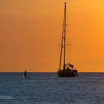 Sunset with yachts near Phuket island, Thailand               XOKA2019s thumbnail