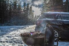 Last bbq (real.jtj) Tags: fire bbq opel woods skog skogen dalarna falun enviken sverige sweden